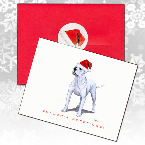 American Bulldog Christmas Cards