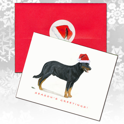 Beauceron Christmas Cards
