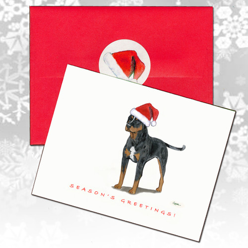 Catahoula Leopard Dog Christmas cards