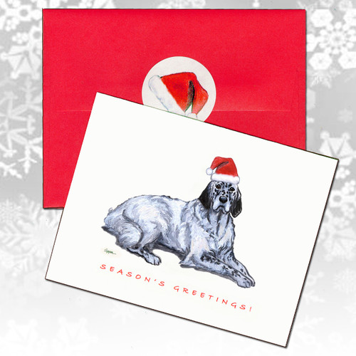 English Setter Christmas Cards
