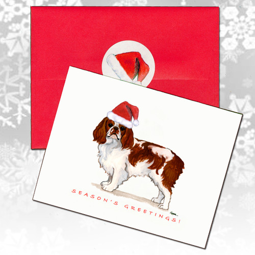 English Toy Spaniel Christmas Cards