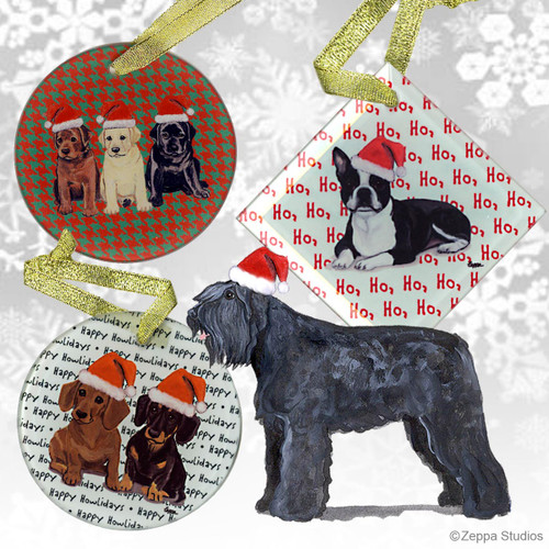 Bouvier Christmas Ornament