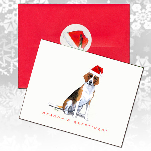 Foxhound Christmas Cards