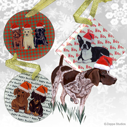 German Shorthair Pointer Christmas Ornament