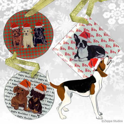 Treeing Walker Coonhound Christmas Ornaments