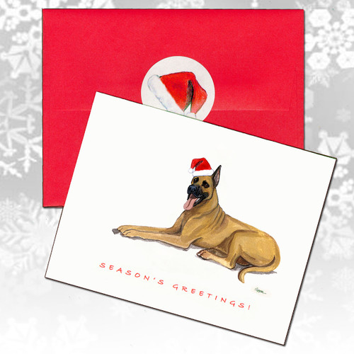 Great Dane Christmas Cards