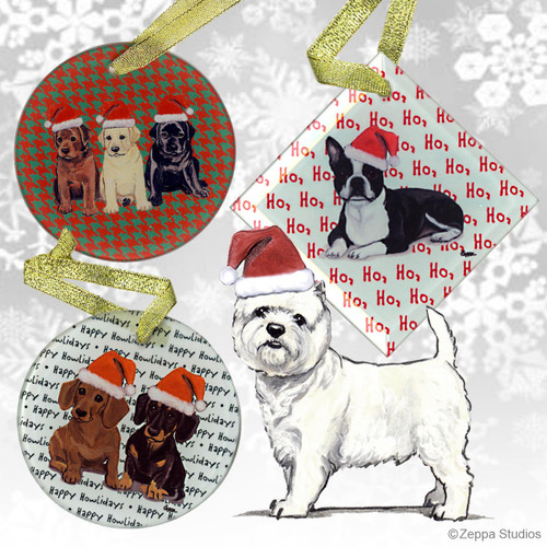 West Highland TerrierOrnament