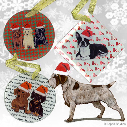Wirehaired Pointing GriffonOrnament