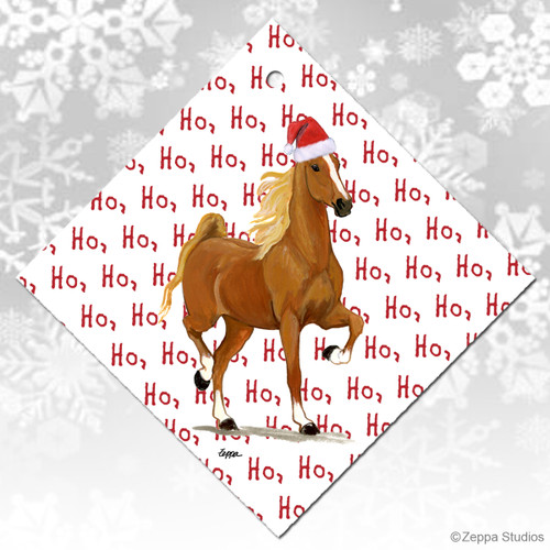 Saddlebred Horse Christmas Ornament