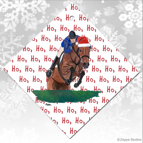 Hunter Jumper Christmas Ornaments