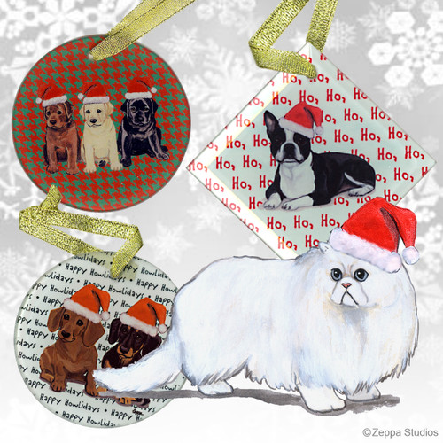 Persian Cat Ornaments