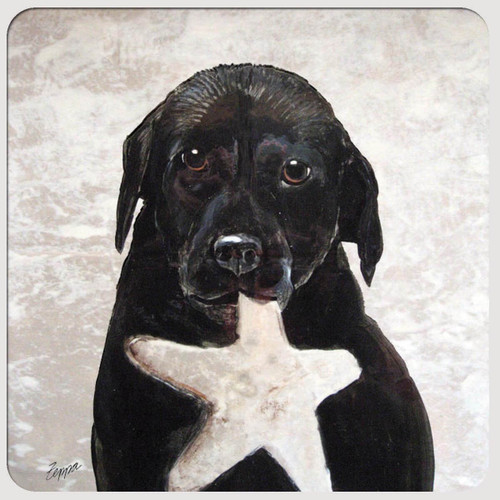 Star Retriever Coasters