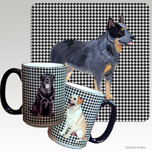 Australian Cattle Dog Houndzstooth Mug