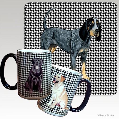 Bluetick Coonhound Houndzstooth Mug