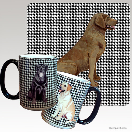 Chesapeake Bay Retriever Houndzstooth Mug
