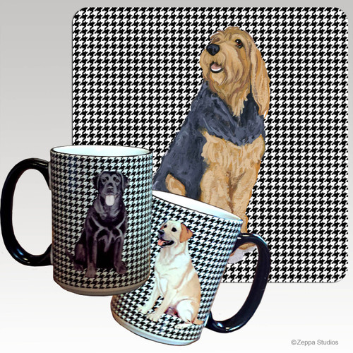 Otterhound Houndzstooth Mug