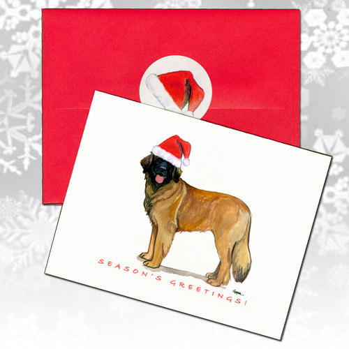 Leonberger Christmas Cards