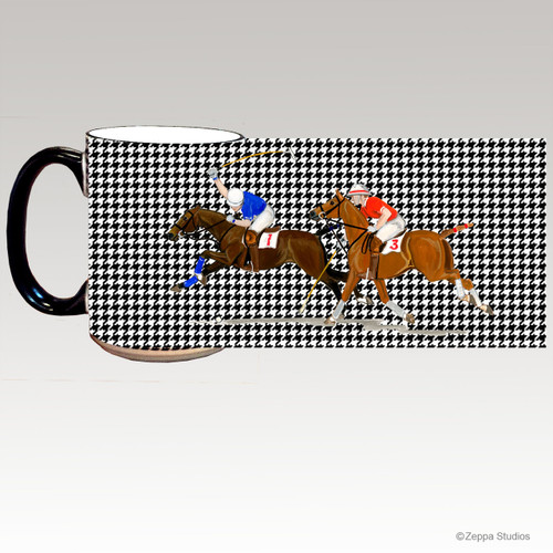 Polo Houndzstooth Mug