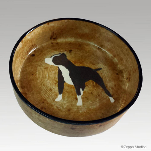 9 inch American Pit Bull bowl
