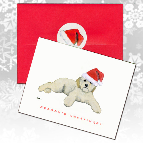 Cockapoo Christmas Cards