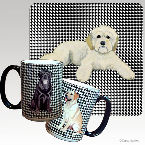 Cockapoo Houndzstooth Mug