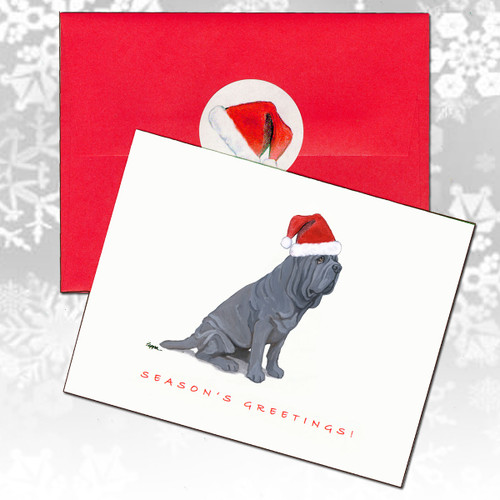 Neopolitan Mastiff Christmas Cards