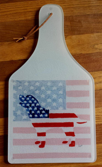 Patriotic Lab Cheese Board