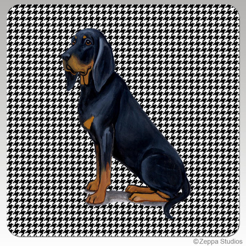 Black and Tan Coonhound Beverage Coasters