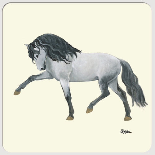 Andalusian Horse Beverage Coasters