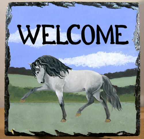 Andalusian Horse Slate Signs