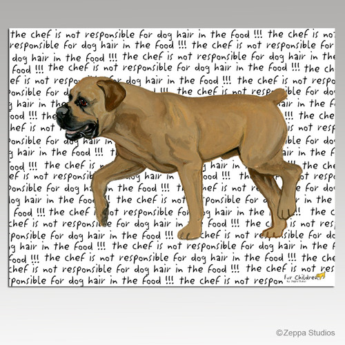 Boerboel Cutting Board