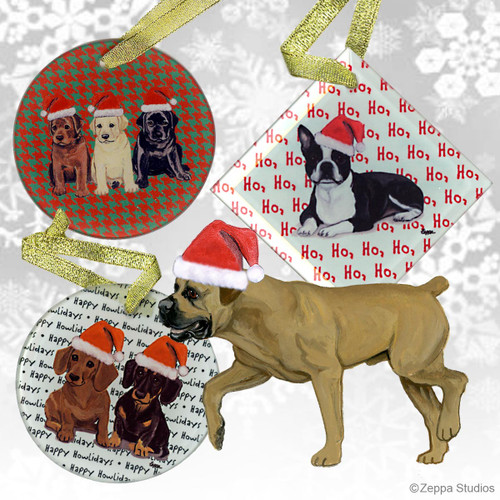 Boerboel Christmas Ornament