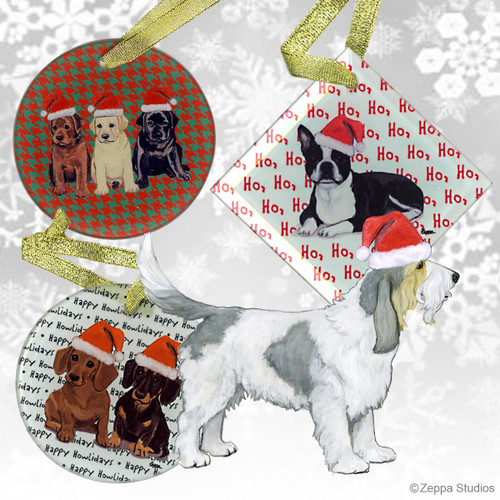 Grand Basset Griffon Vendeen Christmas Ornament