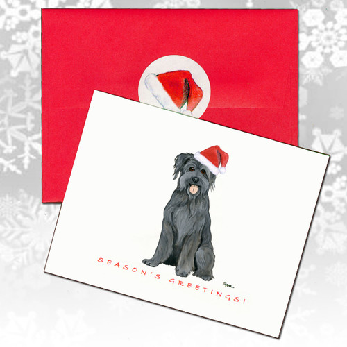 Pyrenean Shepherd Christmas Cards