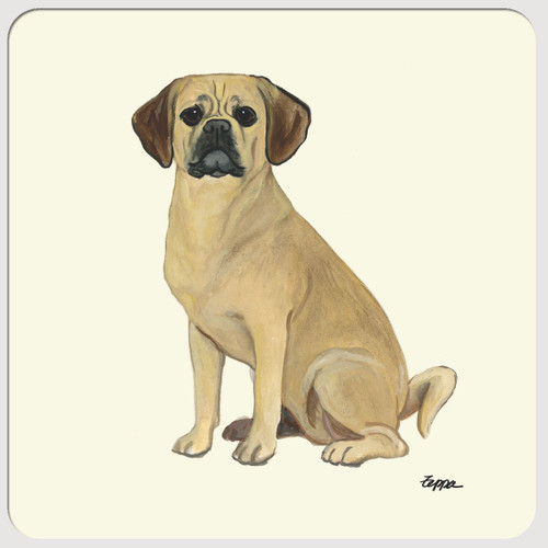 Puggle Beverage Coasters