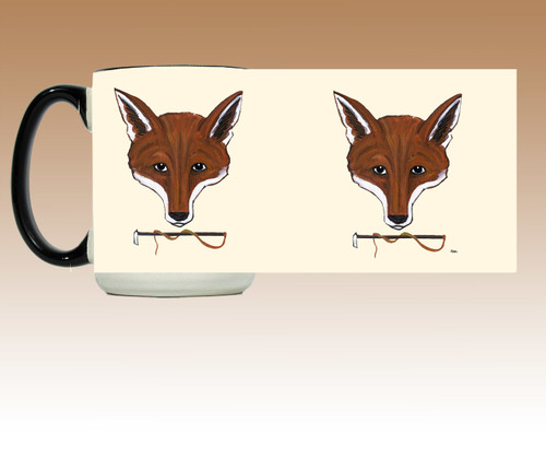 Fox Mask Wrap Mug
