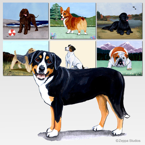 Greater Swiss Mtn Dog Scenic Mouse Pad