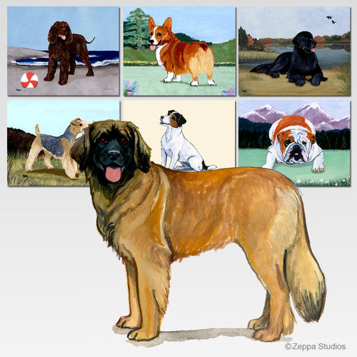 Leonberger Scenic Mouse Pad