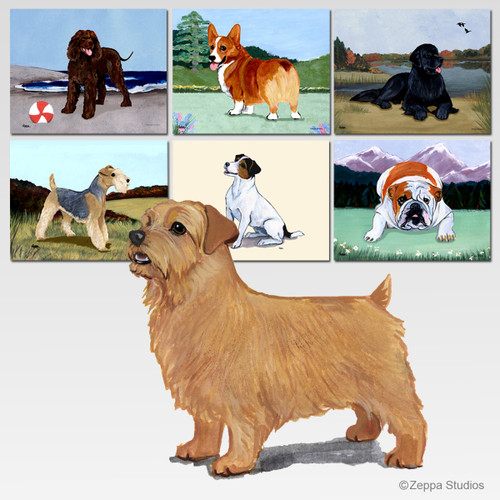 Norfolk Terrier Scenic Mouse Pad