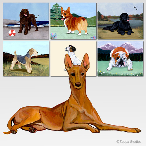 Pharaoh Hound Scenic Mouse Pad