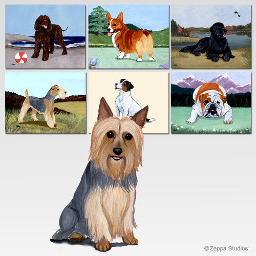 Silky Terrier Mouse Pad