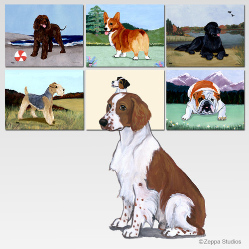 Welsh Springer Scenic Mouse Pad
