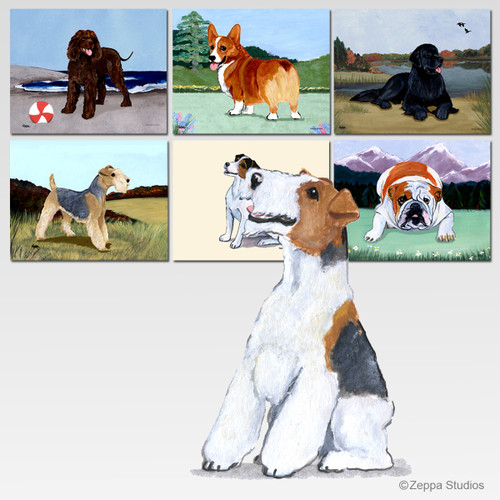 Wirehaired Fox Terrier Mouse Pad