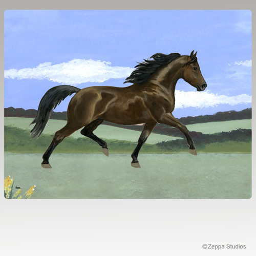 Morgan Horse Scenic Mouse Pads
