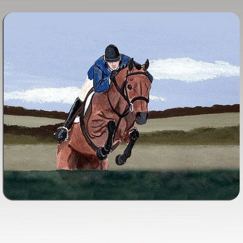 Hunter Jumper Scenic Mouse Pad
