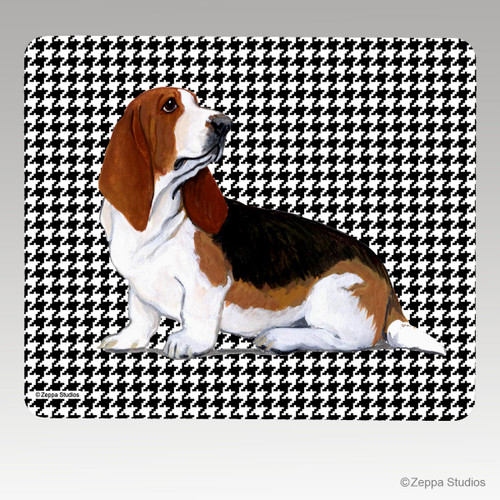 Basset Hound Mouse Pad