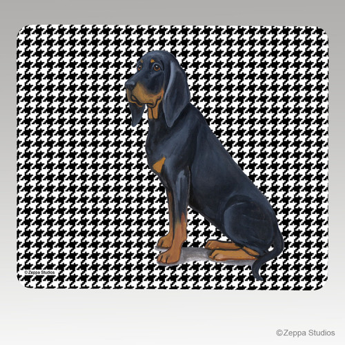 Black N Tan Coonhound Terrier Mouse Pad