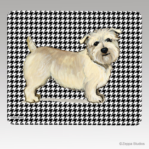 Glen of Imaal Houndstooth Mouse Pad