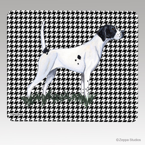 Pointer Houndstooth Mouse Pad
