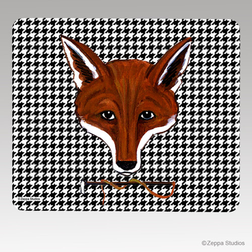 Fox Mask Mouse Pad